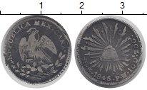 Изображение Монеты Мексика 1/2 реала 1846 Серебро VF