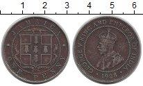 Изображение Монеты Ямайка 1 пенни 1928 Медь VF