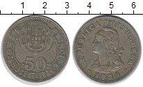 Изображение Монеты Сан-Томе и Принсипи 50 сентаво 1929 Медно-никель XF Колония  Португалии