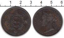 Изображение Монеты Остров Джерси 1/12 шиллинга 1870 Медь XF