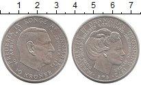Изображение Монеты Дания 10 крон 1972 Серебро XF