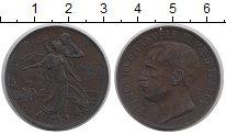 Изображение Монеты Италия 10 сентесим 1911 Медь VF+ Витторио Имануил III