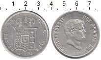 Изображение Монеты Сицилия 120 гран 1857 Серебро XF