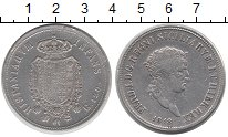 Изображение Монеты Сицилия 120 гран 1818 Серебро XF