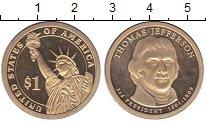 Изображение Монеты США 1 доллар 2007 Латунь Proof-