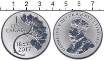 Изображение Монеты Канада 1 цент 2017 Серебро Proof