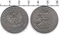 Изображение Монеты Польша 500 злотых 1989 Медно-никель UNC-