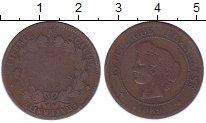 Изображение Монеты Франция 5 сантим 1889 Бронза VF