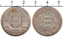 Изображение Монеты Эстония 1 крона 1933 Серебро XF+