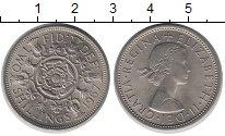 Изображение Монеты Великобритания 1 шиллинг 1967 Медно-никель UNC-