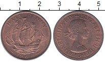 Изображение Монеты Великобритания 1/2 пенни 1967 Бронза XF Елизавета II