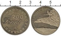 Изображение Монеты Венгрия 200 форинтов 2001 Латунь UNC