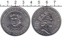 Изображение Монеты Гернси 2 фунта 1991 Медно-никель UNC-