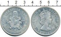 Изображение Монеты Бермудские острова 1 крона 1964 Серебро XF Елизавета II