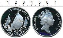 Изображение Монеты Великобритания Бермудские острова 1 доллар 1992 Серебро Proof