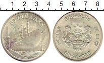 Изображение Монеты Сингапур 10 долларов 1976 Серебро XF