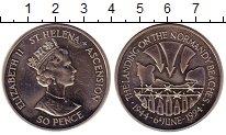 Изображение Монеты Остров Святой Елены 50 пенсов 1994 Медно-никель UNC- Елизавета II.  50  л