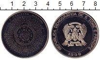 Изображение Монеты Сан-Томе и Принсипи 2000 добрас 1998 Медно-никель UNC-