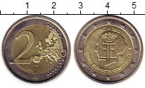 Изображение Монеты Бельгия 2 евро 2012 Биметалл UNC- 75  лет  Конкурсу  и