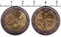 Изображение Монеты Греция 2 евро 2014 Биметалл UNC- 400  лет  со  дня  с