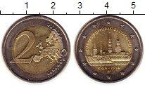 Изображение Монеты Латвия 2 евро 2014 Биметалл UNC-