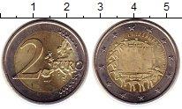 Монета Люксембург 2 евро Биметалл 2015 UNC- фото