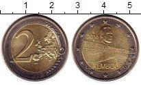 Изображение Монеты Люксембург 2 евро 2016 Биметалл UNC- 50 - летие  моста  В