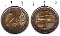 Изображение Монеты Мальта 2 евро 2015 Биметалл UNC-
