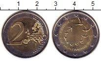 Изображение Монеты Словения 2 евро 2017 Биметалл UNC-