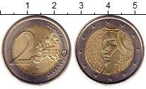 Изображение Монеты Франция 2 евро 2015 Биметалл UNC-
