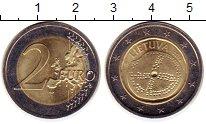 Изображение Монеты Литва 2 евро 2016 Биметалл UNC- Балтийская  культура