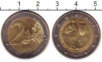 Изображение Монеты Греция 2 евро 2015 Биметалл UNC- 75  лет  со  дня  см