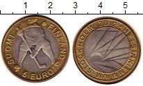 Изображение Монеты Финляндия 5 евро 2012 Биметалл UNC- Хоккей