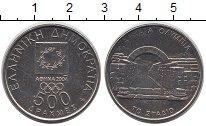 Монета Греция 500 драхм Латунь 2000 UNC фото