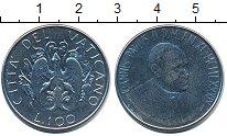 Изображение Монеты Ватикан 100 лир 1989 Железо UNC-