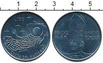 Изображение Монеты Ватикан 100 лир 1969 Железо UNC-