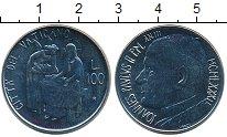 Изображение Монеты Ватикан 100 лир 1981 Железо UNC-
