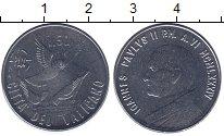 Изображение Монеты Ватикан 50 лир 1984 Железо UNC-