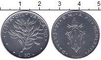 Изображение Монеты Ватикан 50 лир 1974 Железо UNC-