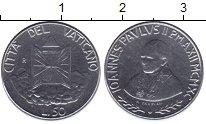 Изображение Монеты Ватикан 50 лир 1990 Железо UNC-