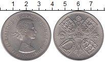 Изображение Монеты Великобритания 5 шиллингов 1960 Медно-никель UNC-
