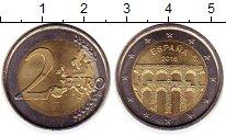 Монета Испания 2 евро Биметалл 2016 UNC-