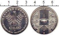 Изображение Монеты Германия 10 евро 2009 Серебро UNC- D 100 лет гражданско