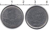 Изображение Монеты Бразилия 1 сентаво 1994 Медно-никель UNC-