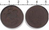 Изображение Монеты 1741 – 1761 Елизавета Петровна 1 деньга 0 Медь VF