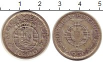 Изображение Монеты Мозамбик 10 эскудо 1960 Серебро VF Португальская колони