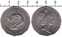 Изображение Мелочь Австралия 50 центов 1991 Медно-никель UNC- Елизавета II.Баран
