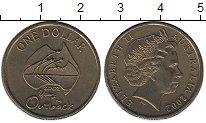 Изображение Монеты Австралия 1 доллар 2002 Латунь UNC-