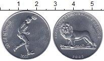 Изображение Монеты Конго 50 сентим 2002 Алюминий UNC-