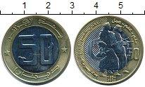 Изображение Монеты Алжир 50 динар 2004 Биметалл UNC- 50 лет Революции
